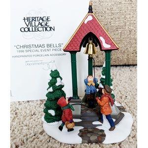 Dept 56 Heritage Village Christmas Bells #98711